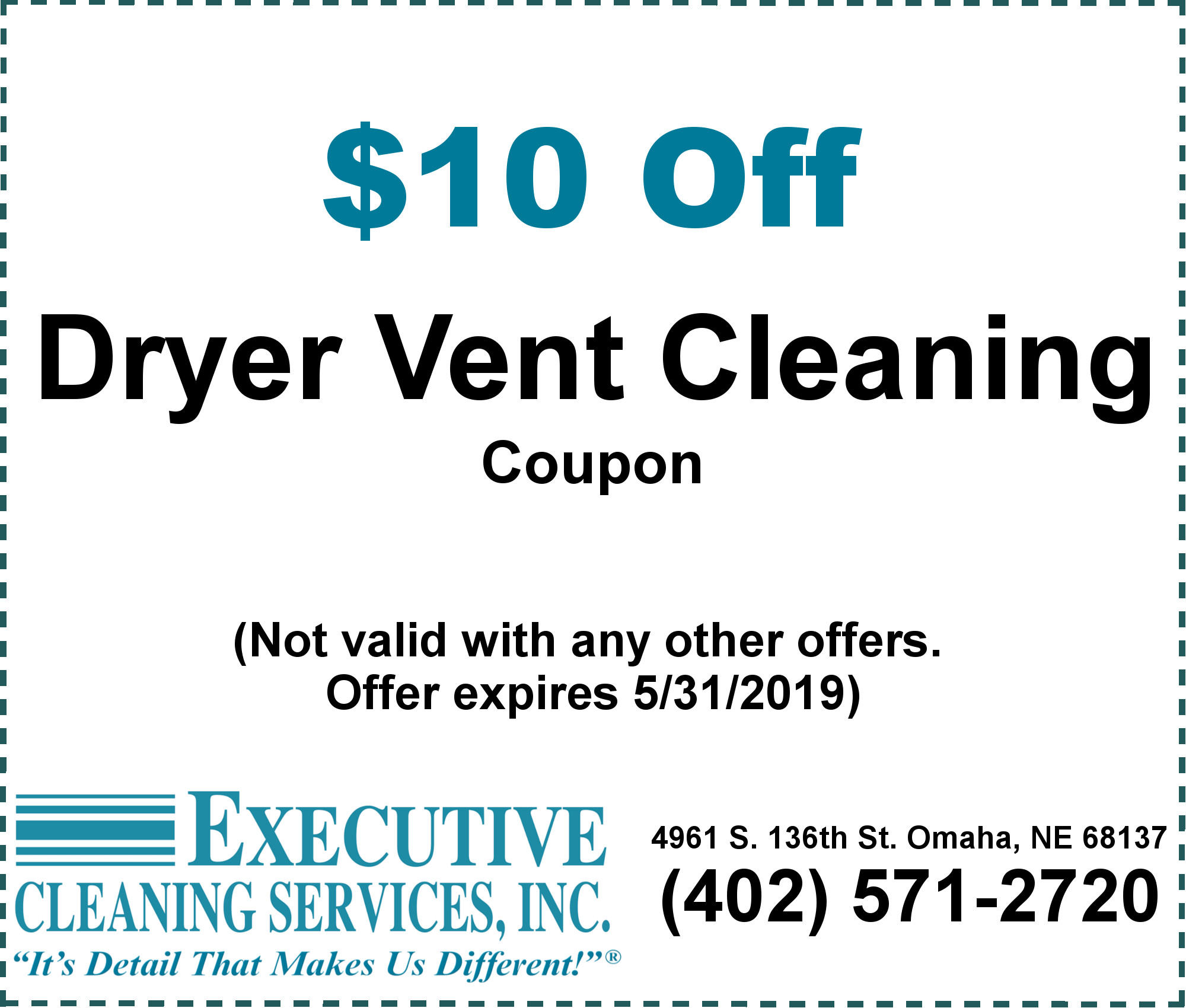 Specials Executive Cleaning Services Inc Omaha Ne